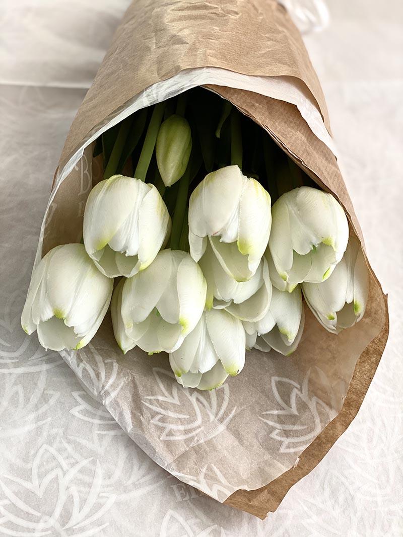 pomos de tulipanes