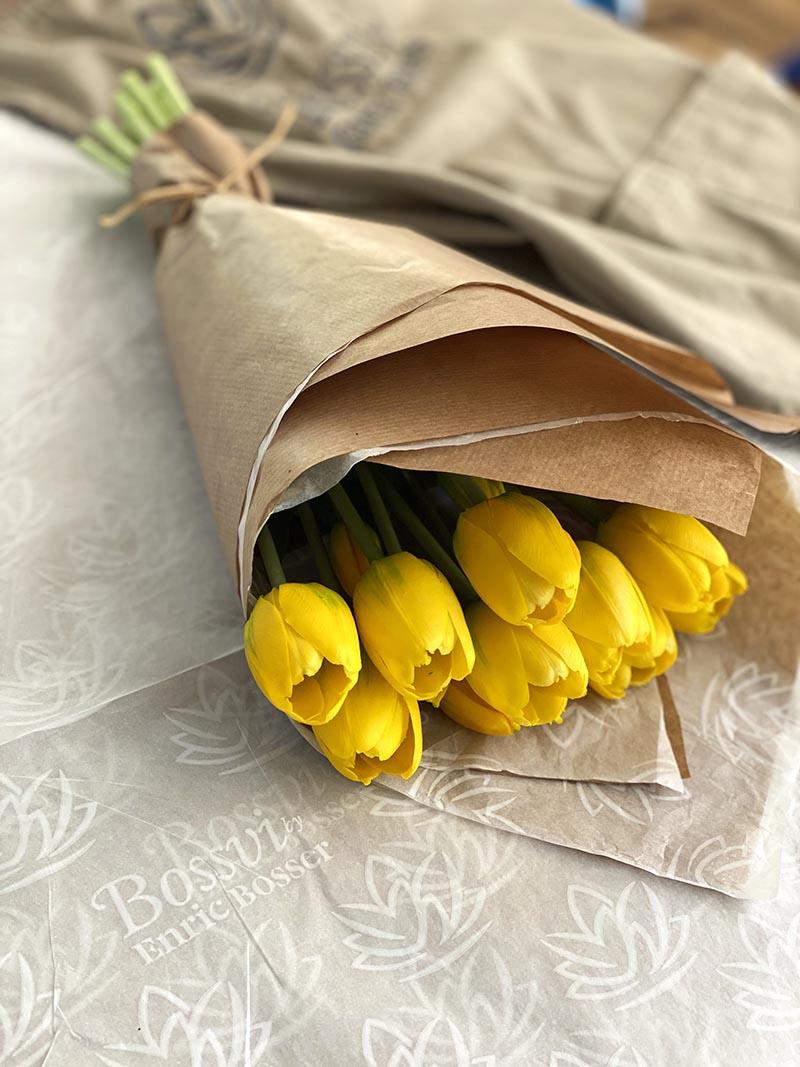 tulipanes, flores sueltas, flor artificial bonita